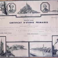 certificat d'études primaires